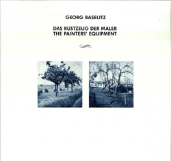 Georg Baselitz - Das Rüstzeug der Maler / The Painters's Equipment - (vinylplade)