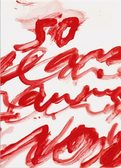 Cy Twombly - 50 Years of Works on Paper