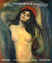 EDVARD MUNCH. COMPLETE PAINTINGS - CATALOGUE RAISONNE. VOL. I - IV