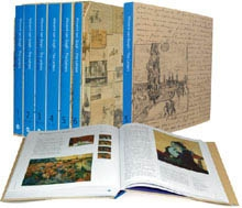 VINCENT VAN GOGH - THE LETTERS. The Complete Illustrated and Annotated Edition. VOL. I - VI