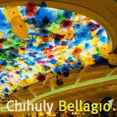 CHIHULY. BELLAGIO. Med DVD