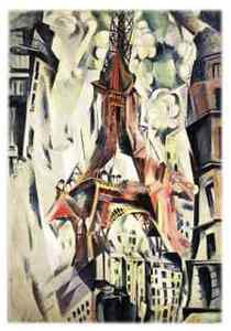 VISIONS OF PARIS. ROBERT DELAUNAY`S SERIES